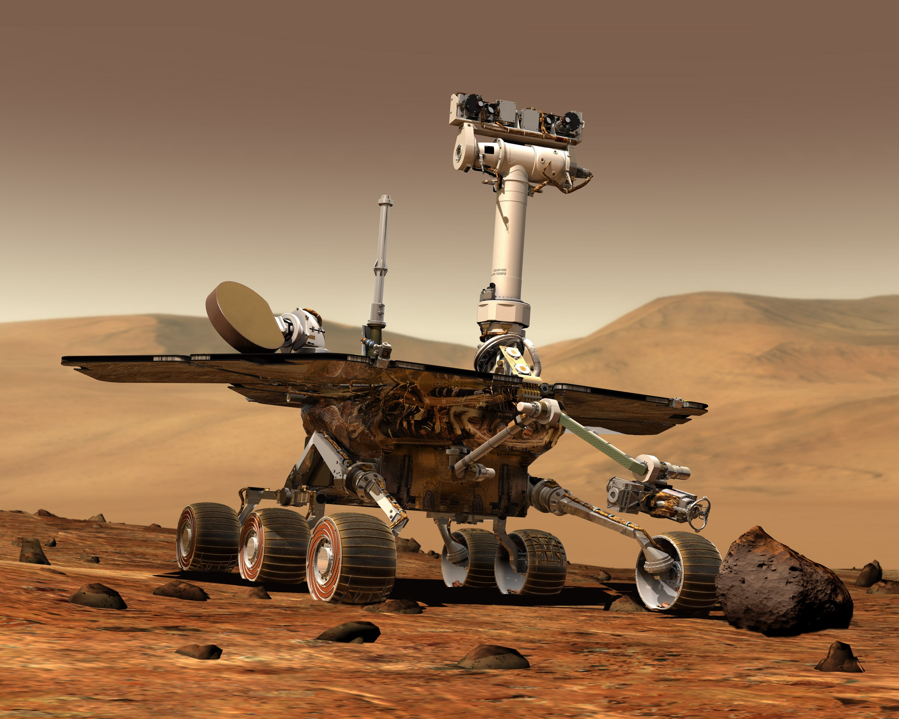 Mars Rovers Spirit And Opportunity (page 3) - Pics about space