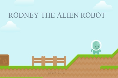Rodney the Alien Robot