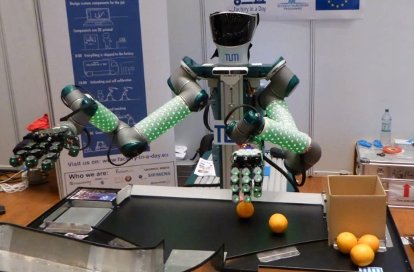 Robot at IROS 2015