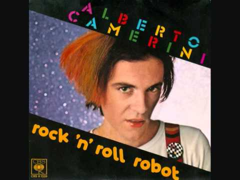 Rock 'n' roll robot by Alberto Camerini