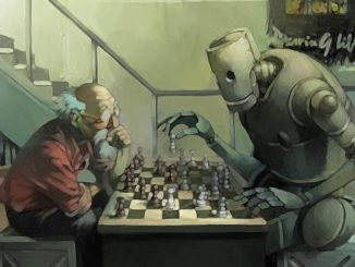 Robot and human playing chess - Is this a more likely future?