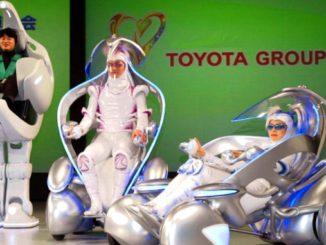 Toyota robotic vehicles
