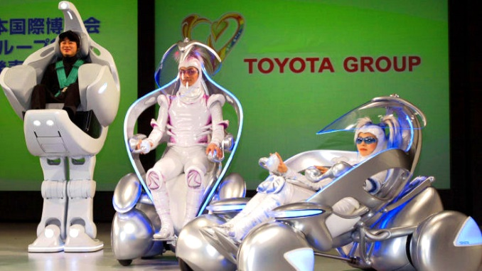 Toyota robotic vehicles